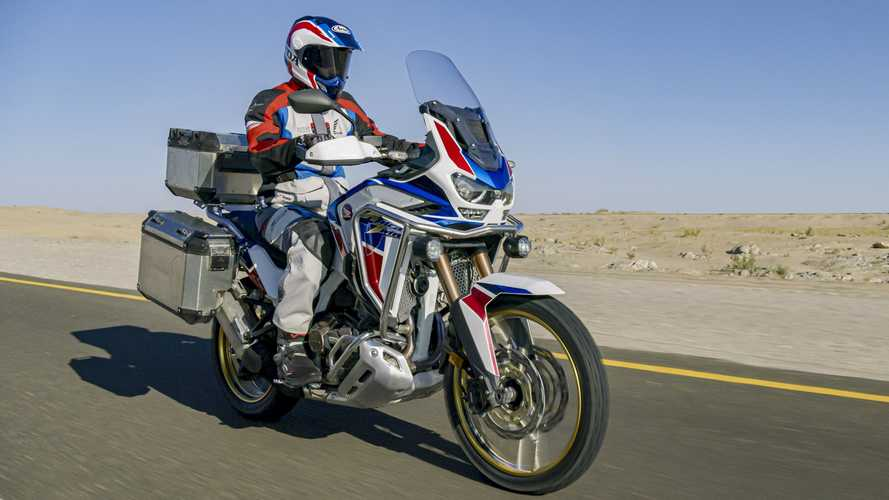 Honda Africa Twin Patent Unveils Potential New Radar System
