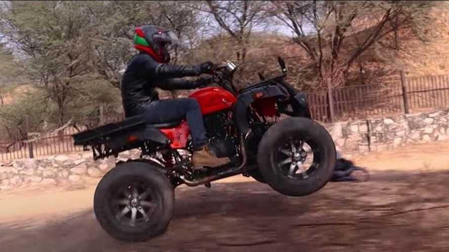 Kunwar Customs Himalayan ATV