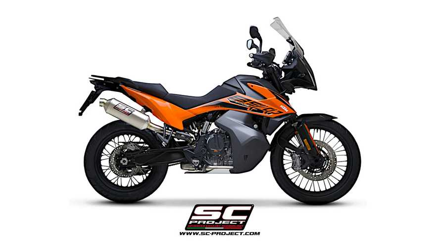 SC Project KTM 890 Adventure Exhausts