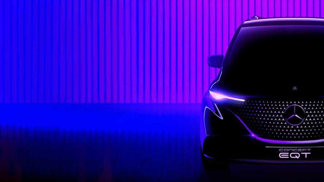 Mercedes Concept EQT: Bald kommt der Elektro-Citan