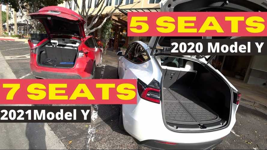 How Well Does A 6-Foot Adult Fit In Tesla Model Y's Optional 3rd Row?