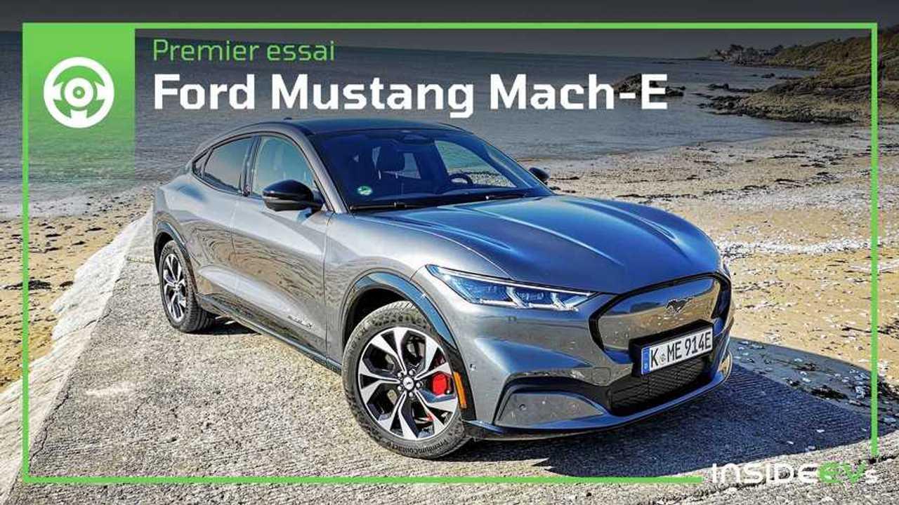 Essai Mustang Mach-E