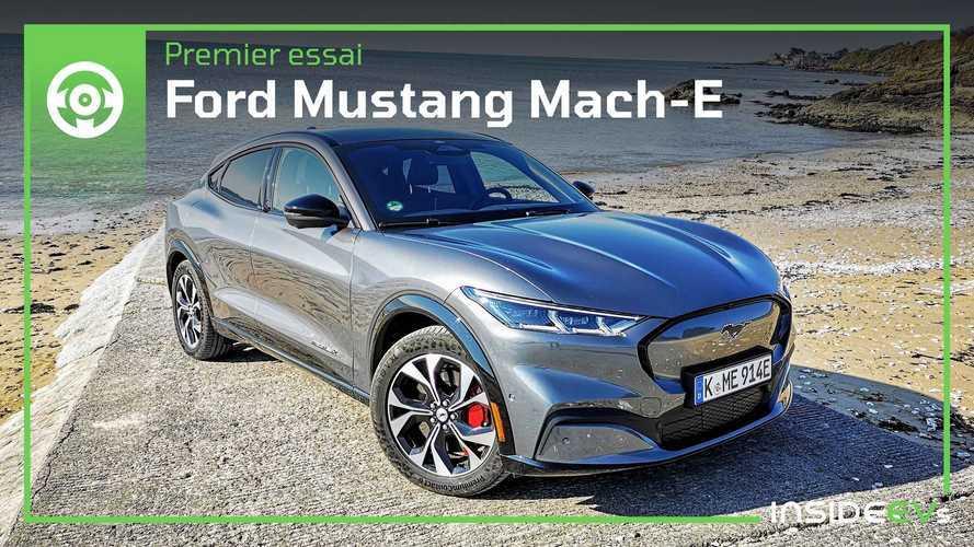 Essai Ford Mustang Mach-E - L'électrique au triple galop