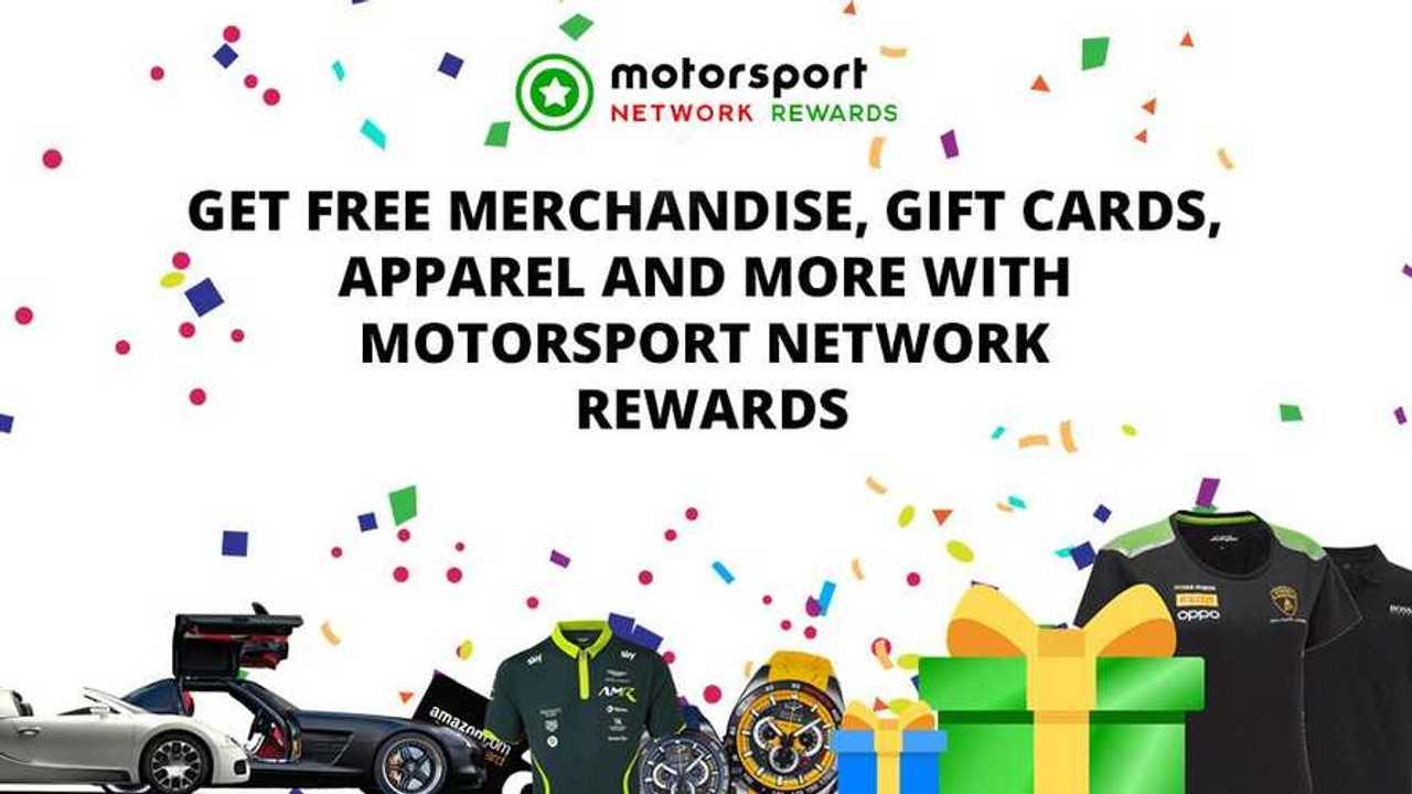 Motorsport Network Rewards