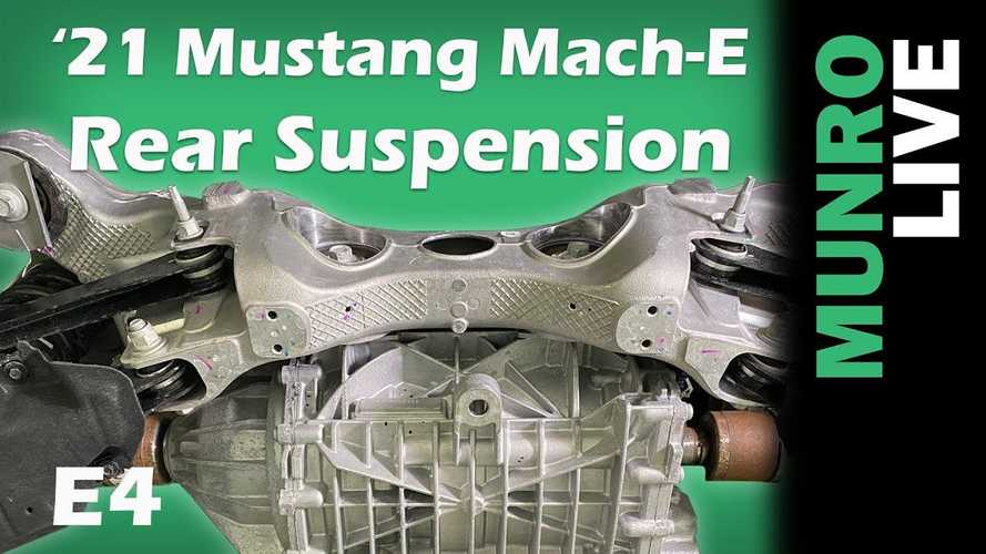 Sandy Munro: Ford Mustang Mach-E's Rear Undercarriage Amazes