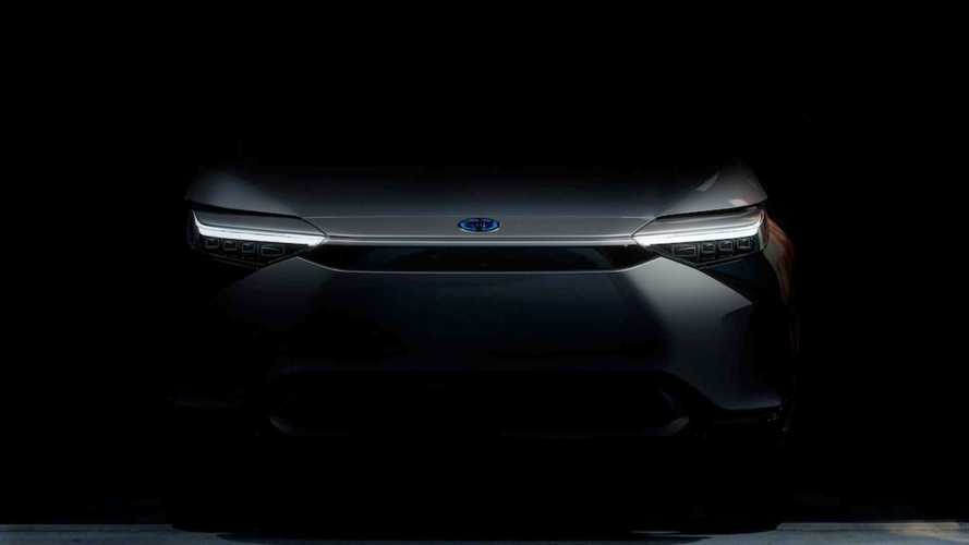 SUV elétrico da Toyota mostra a 'cara' em 1ª imagem divulgada