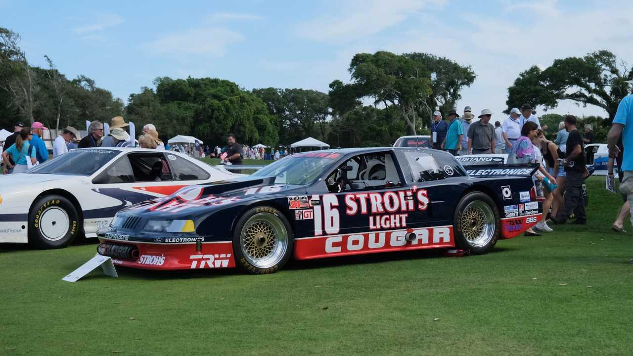 1989 Mercury Cougar Race Car At Amelia Island Concours d'Elegance