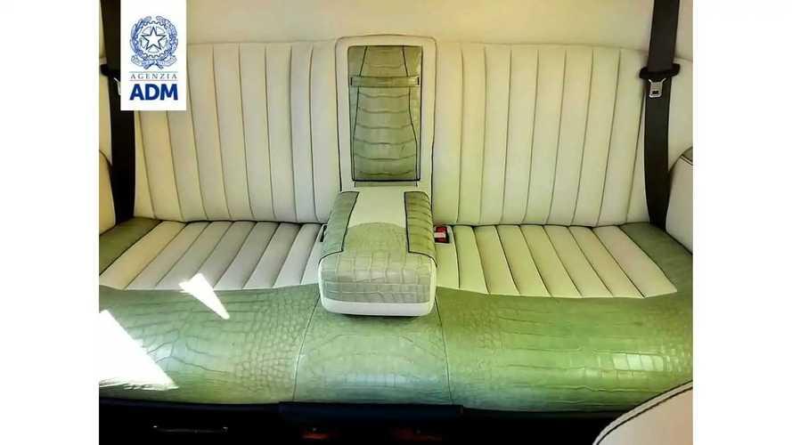 Rolls-Royce Phantom с салоном из кожи крокодила