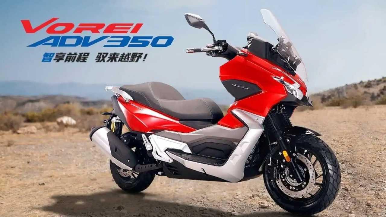 Dayang ADV 350 maxi scooter racikan Cina.
