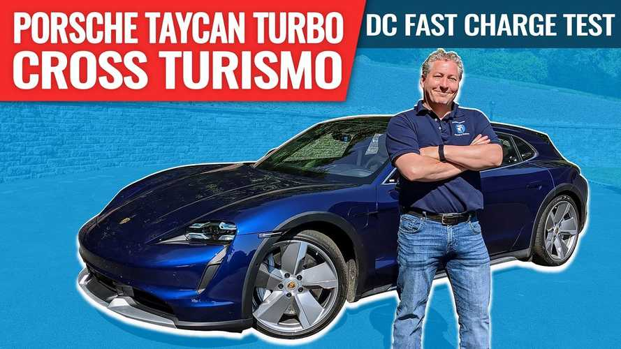 How Long Does It Take To Charge A Porsche Taycan Cross Turismo?