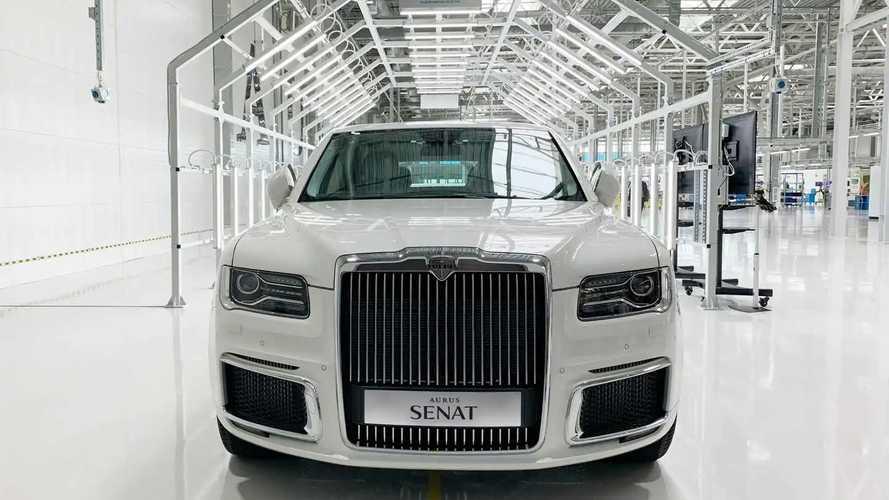 Автомобили Aurus могут перевести на полностью электрическую тягу