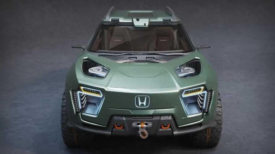 Honda Ridgeline Elektrikli Konsept Hayali Tasarımı (Render)