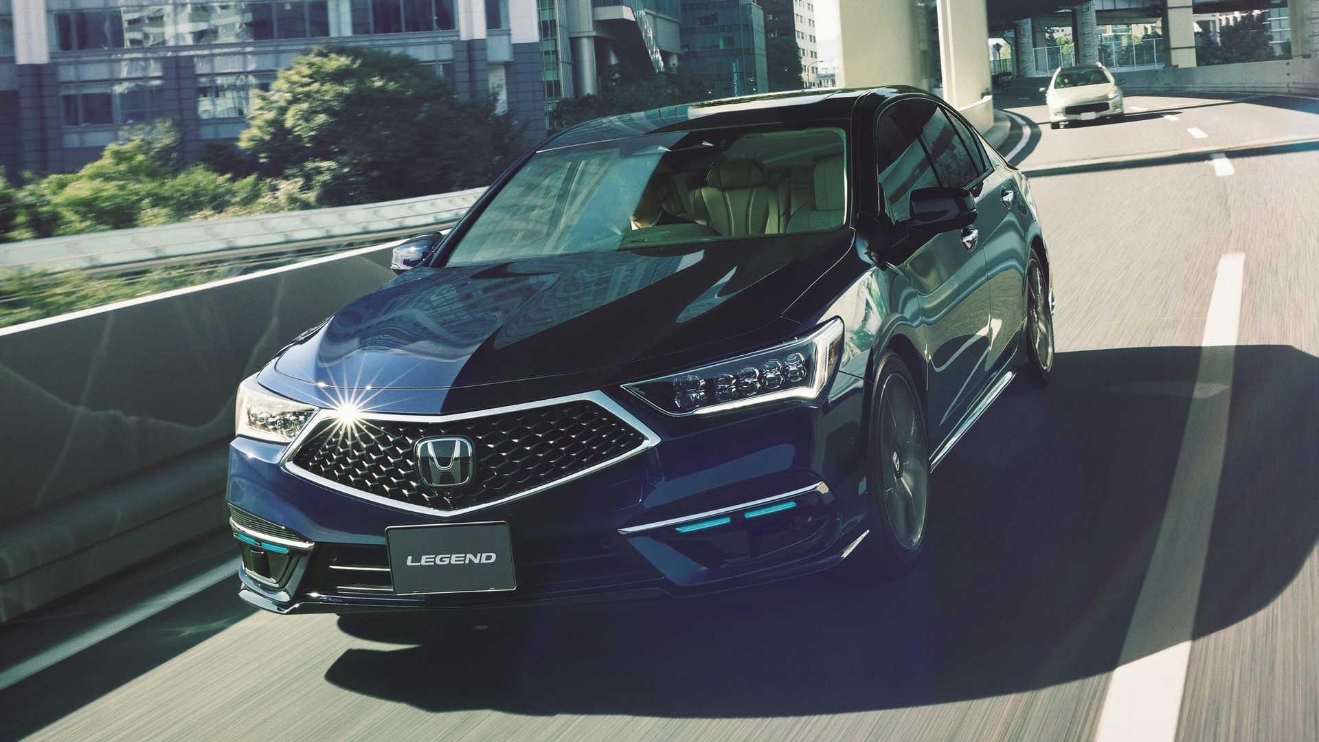 Honda Legend с автономным вождением 3-го уровня поступила в продажу в Японии