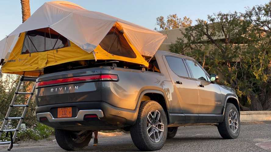 Rivian And Yakima Look To Be Collaborating On Camping Gear