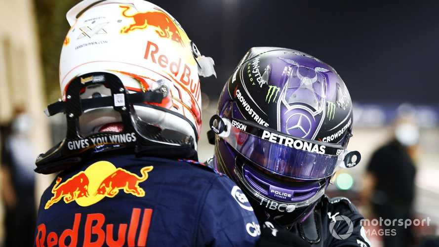 Bahrain GP: Hamilton holds off Verstappen to win epic duel