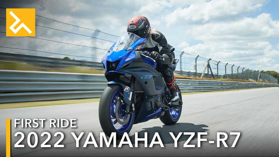 2022 Yamaha YZF-R7 First Ride Review