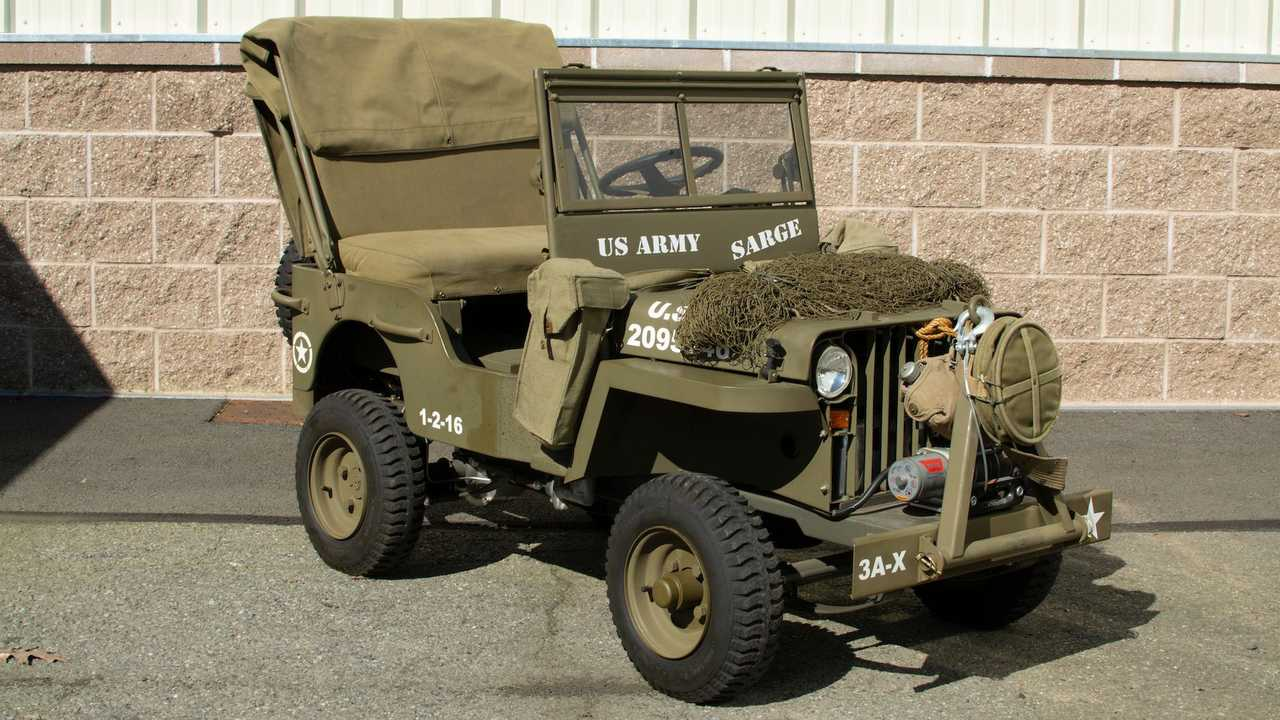 Jeep infantil con motor Honda se subasta