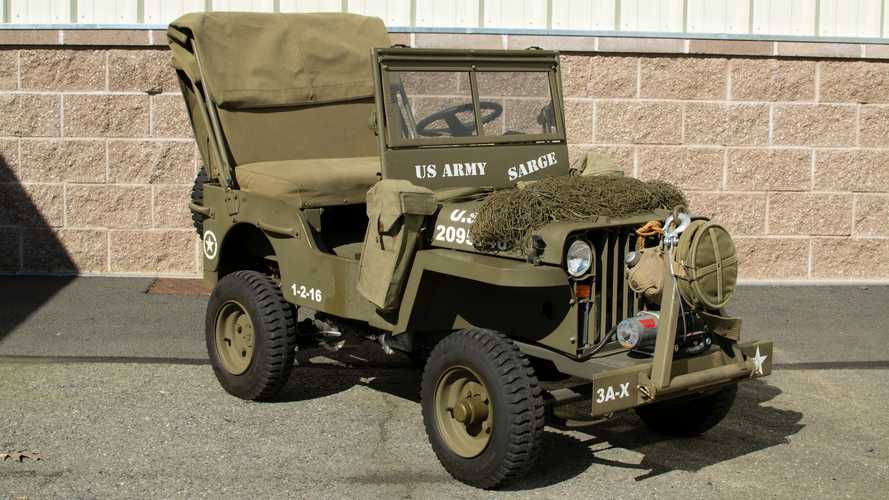 Honda-Powered Mini Jeep Is Perfect For Your Little Soldier