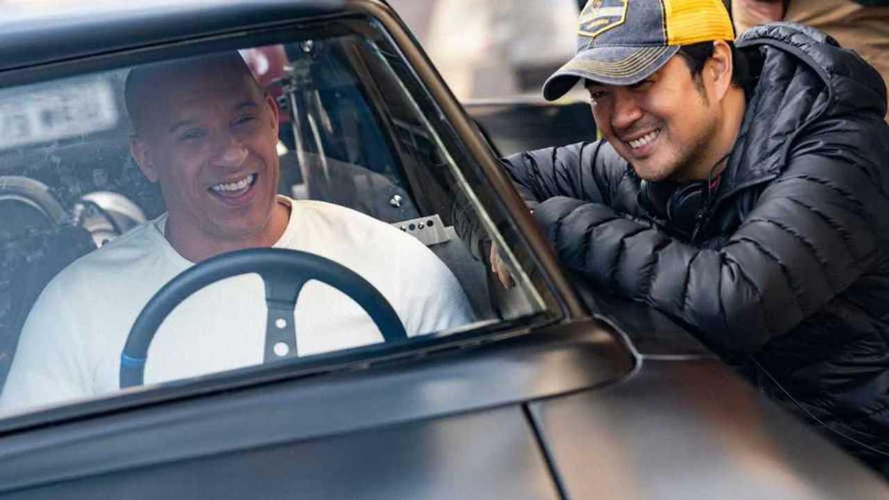 Vin Diesel a Dodge Chargerben