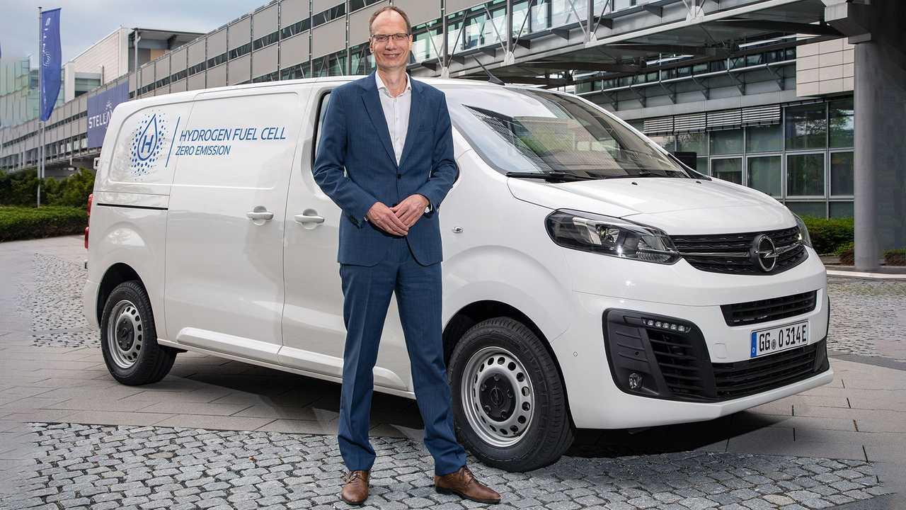 Opel Vivaro-e Hydrogen (2021) leichtes Nutzfahrzeug mit Brennstoffzelle