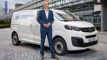 Opel Vivaro-e Hydrogen: Brennstoffzellen-Transporter kommt 2021