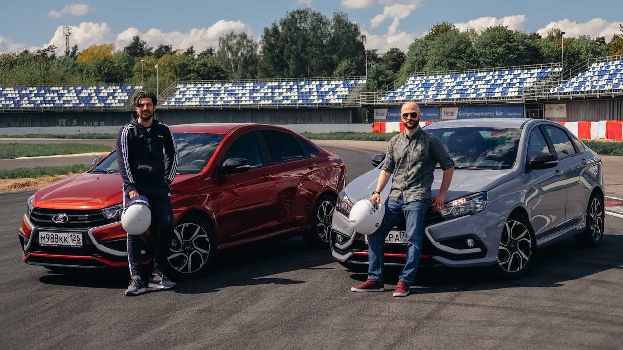 Кто приезжает на Lada Vesta Sport на трек-дни?