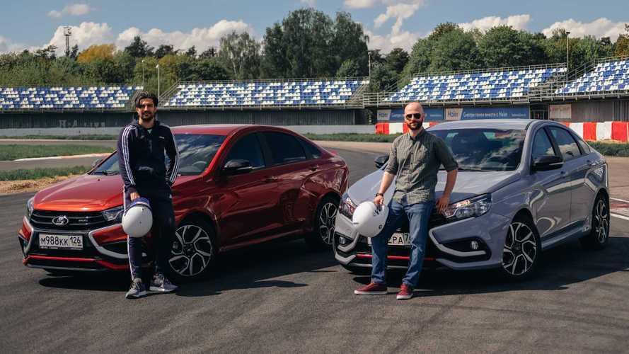 Встреча на трассе: кто еще приезжает на Vesta Sport на трек-дни?