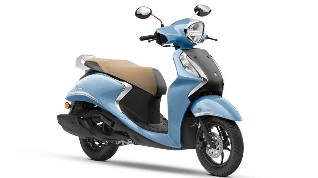 Yamaha Introduces Fascino 125 Hybrid Scooter In India