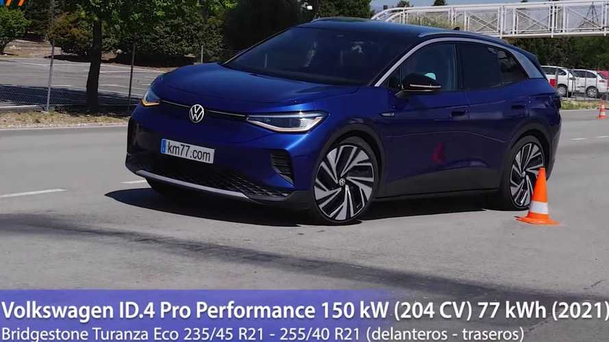 Volkswagen ID.4'ün geyik testini izleyin!