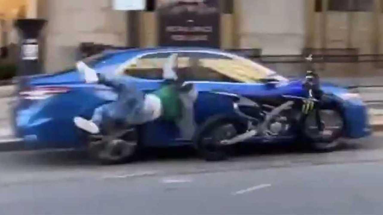 Motokrossz baleset