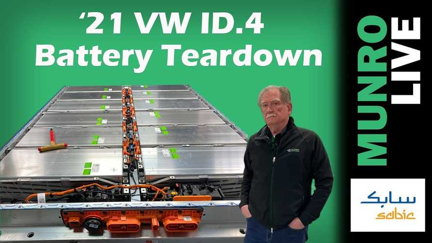 Watch Sandy Munro's Volkswagen ID.4 Battery Teardown & Redesign