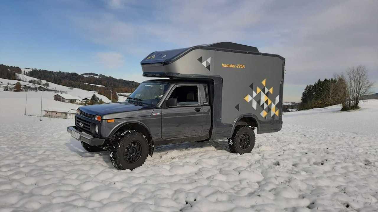 Lada Niva, autocaravana camper barata