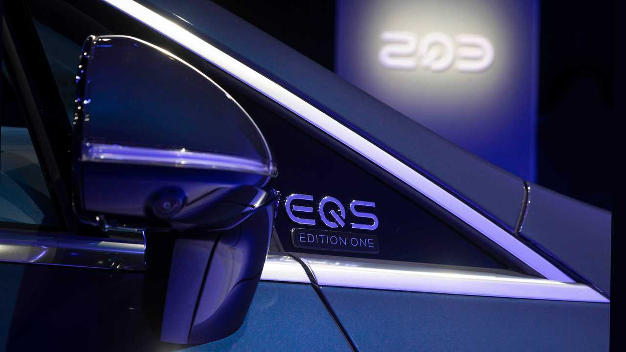 2022 Mercedes-Benz EQS 450 Exterior