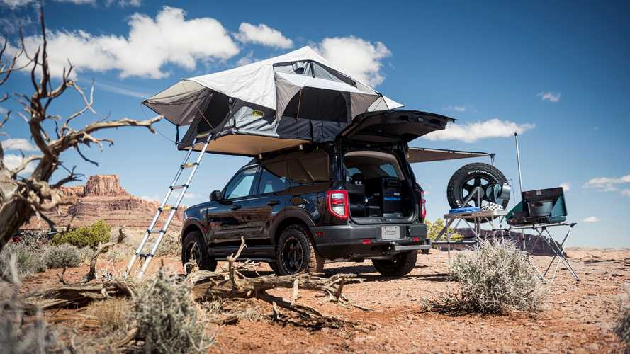 Ford Bronco Sport accessories in Moab