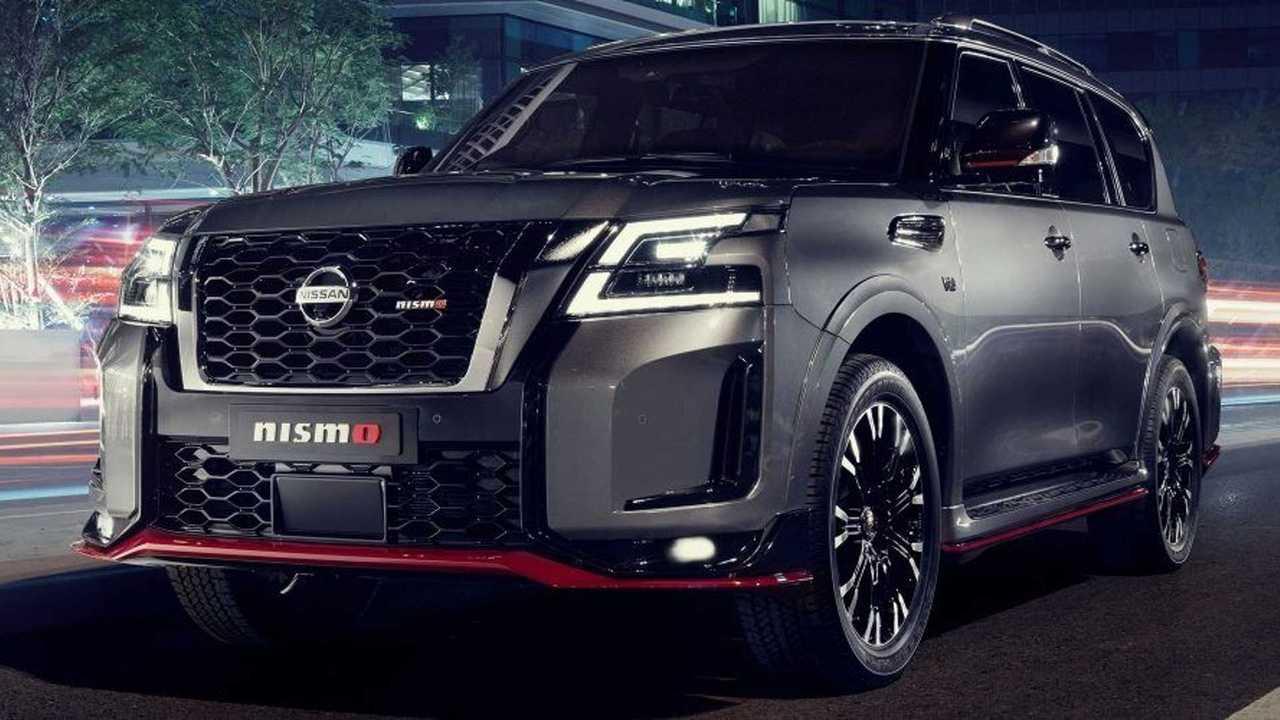 «Заряженный» Nissan Patrol Nismo обновился, но мощнее не стал