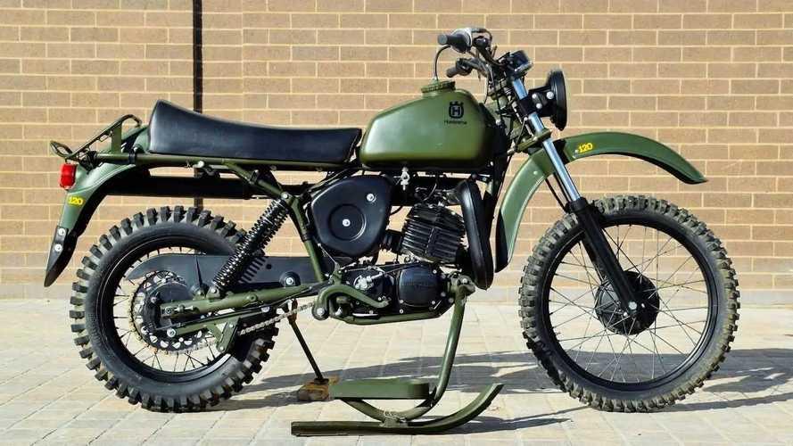 1982 Husqvarna Model 258 Military
