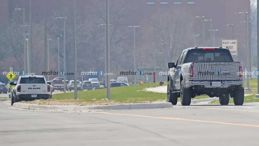 Ford F-150 Raptor R Spy Shots