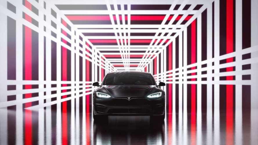 "Tesla Model S Plaid With 21"" Wheels Gets 348 Miles Of EPA Range"