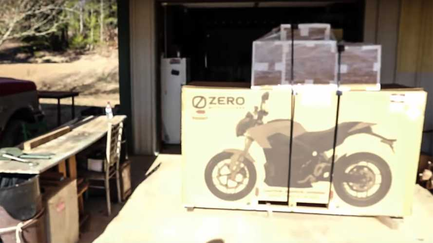 Watch This Guy Unbox His New Zero DSR Black Forest Edition