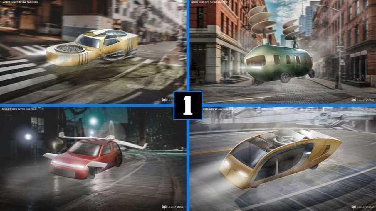8 flying cars renderings lead image