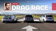 EXKLUSIV: Mercedes-AMG A 45 S gegen BMW M2 Competition und Audi RS 3