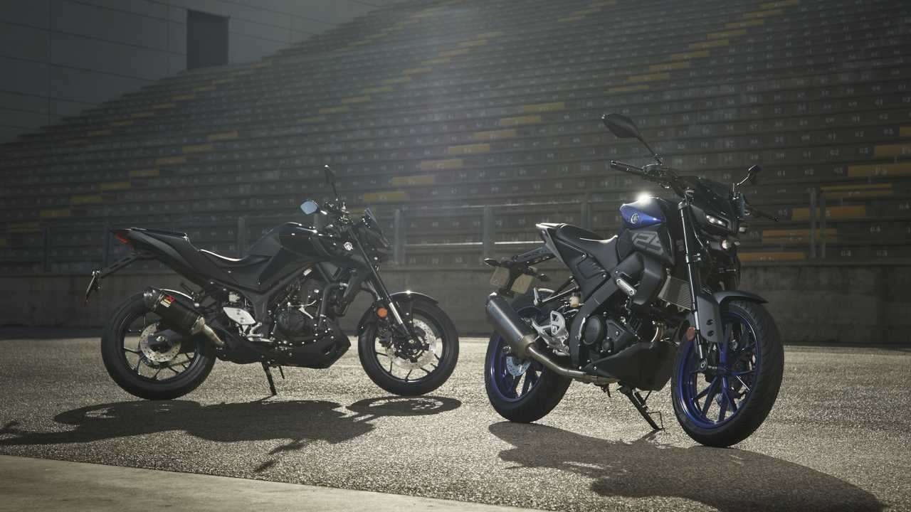 Yamaha Europe MT-125 And MT-03 Accessories