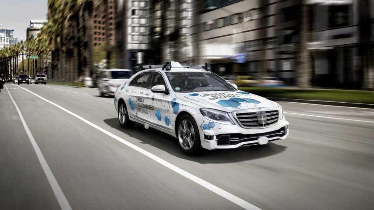 Mercedes Robotaxi teszt