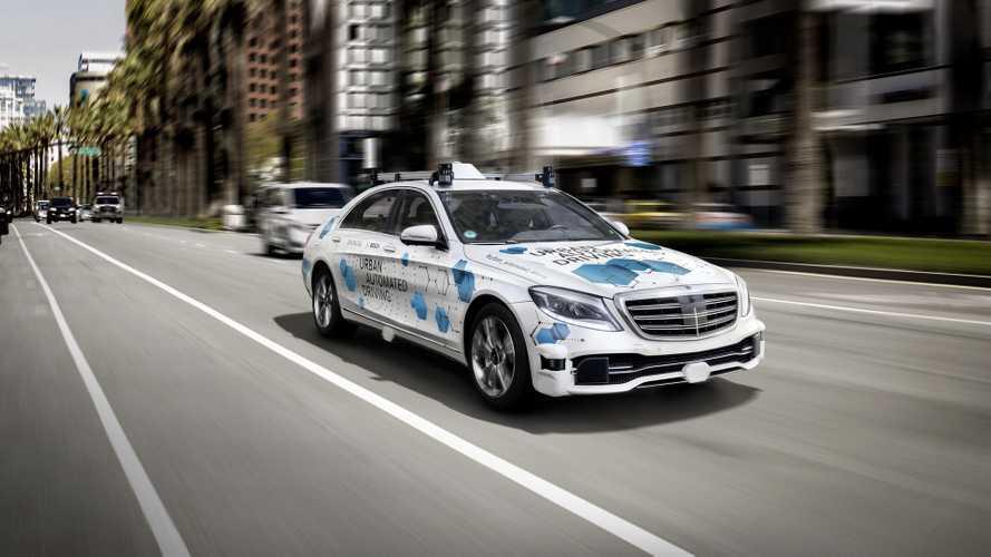 Kaliforniában kezdte tesztelni robotaxijait a Mercedes