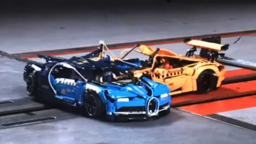Crash test: ahora los protagonistas son coches de Lego Technic (vídeo)