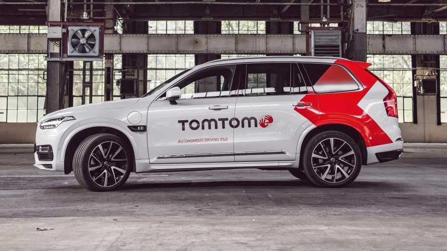 TomTom arriva a Francoforte con un'auto a guida autonoma