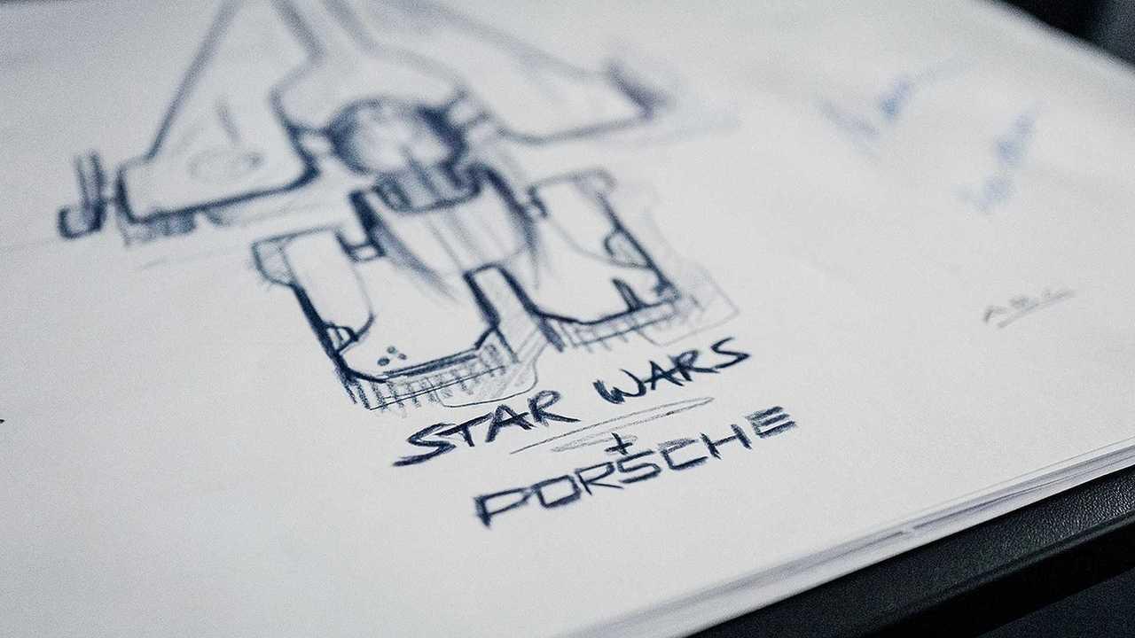 Porsche dessine un vaisseau Star Wars