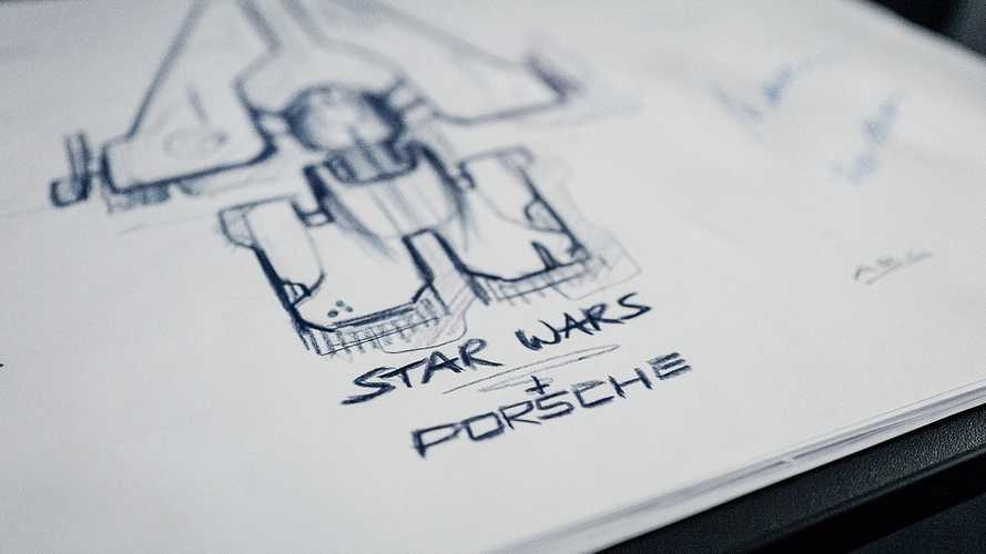 Porsche collabore au design d'un vaisseau pour Star Wars