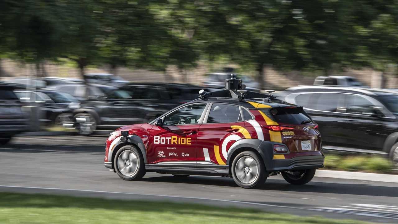 BotRide - autonomous Hyundai Kona Electric