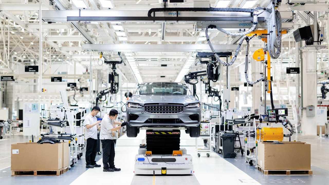 Centro di produzione Polestar in Cina